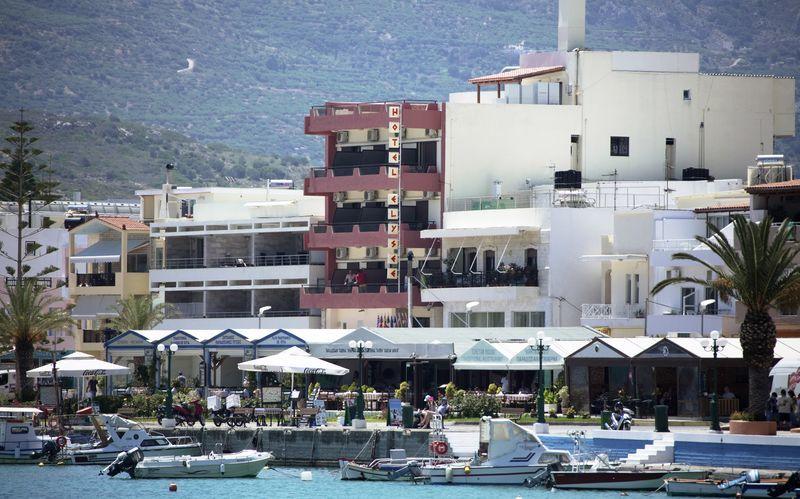 Hotell Elysee i Sitia på Kreta, Grekland.