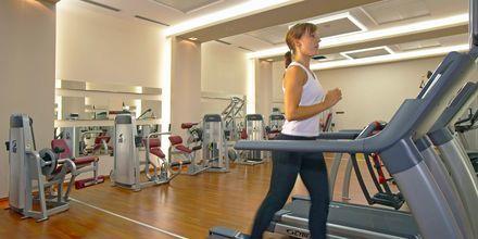 Gymmet på Elysium Resort & Spa på Rhodos, Grekland.