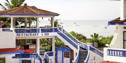 Empire Beach Resort i norra Goa, Indien.