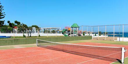 Tennis på hotell Epsilon på Rhodos, Grekland.
