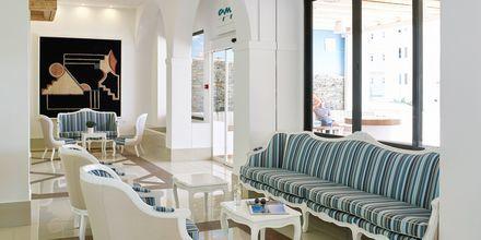 Lobby på hotell Epsilon på Rhodos, Grekland.