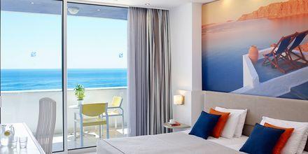 Tvårumslägenhet med havsutsikt på hotell Epsilon, Rhodos.