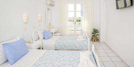 Dubbelrum på hotell Erato i Karlovassi på Samos, Grekland.