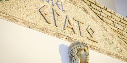 Hotell Erato i Karlovassi på Samos, Grekland.