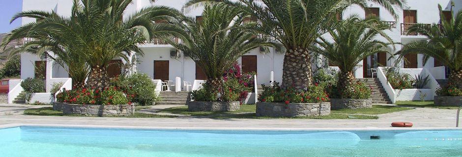 Hotell Eri i Parikia på Paros.