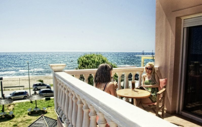 Hotell Esperanza i Kanali, Grekland.