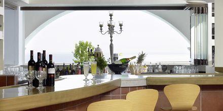 Bar på hotell Esperos Mare på Rhodos, Grekland.