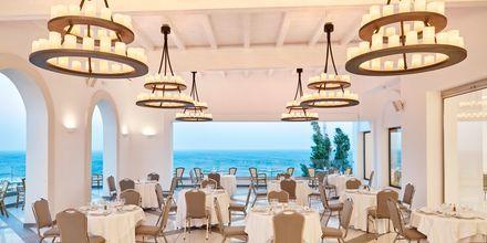 Restaurang på Hotell Esperos Village Blue & Spa på Rhodos, Grekland.