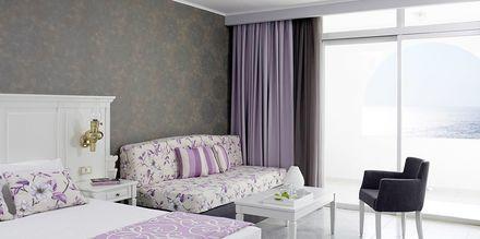 Dubbelrum på Hotell Esperos Village Blue & Spa på Rhodos, Grekland.