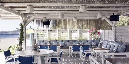 Strandtaverna på Hotell Esperos Village Blue & Spa på Rhodos, Grekland.