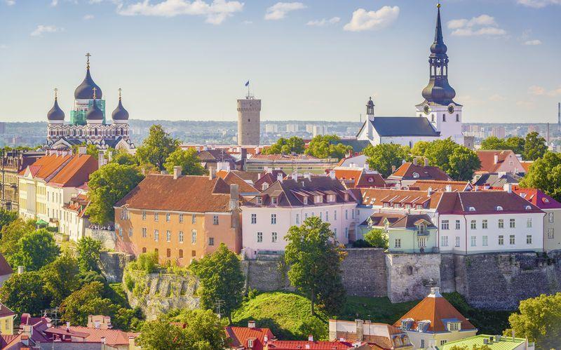 Estland, det perfekta weekendresmålet. Här är Tallinn.