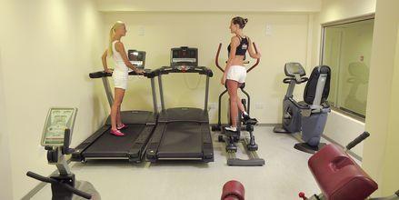 Gym på hotell EuroNapa i Ayia Napa, Cypern.