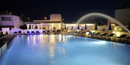 Poolområdet på hotell EuroNapa i Ayia Napa, Cypern.