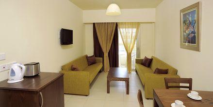 Tvårumslägenhet på hotell EuroNapa i Ayia Napa, Cypern.