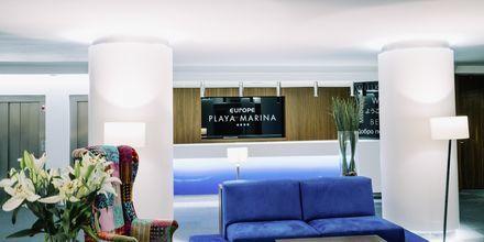 Receptionen på Europe Playa Marina i Illetas på Mallorca.