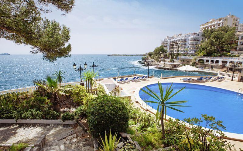 Hotell Europe Playa Marina i Illetas utanför Palma.