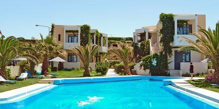 Pool på Eva Bay på Kreta.