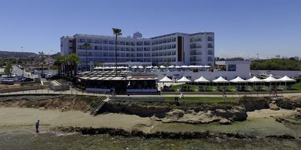 Hotell Evalena Beach i Fig Tree Bay, Cypern.