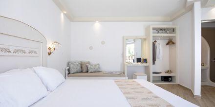 Enrumslägenhet på hotell Evdokia på Naxos, Grekland.