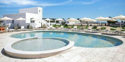 Hotell Evdokia nära Plaka Beach på Naxos, Grekland.