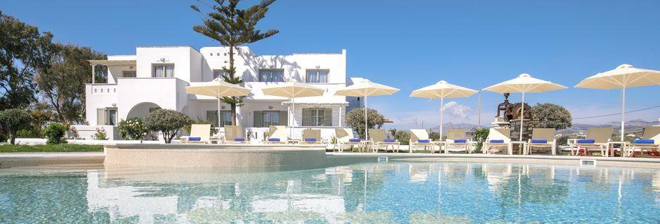 Välkommen till Evdokia i Plaka Beach, Naxos - ett av våra Apollo Mondo Enjoy-hotell!