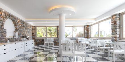 Restaurang på hotell Evdokia på Naxos.