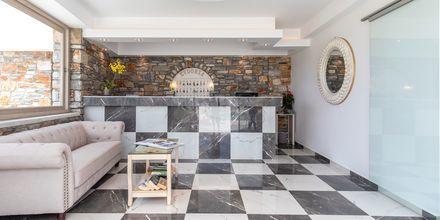 Lobby på hotell Evdokia, Naxos.