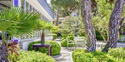 Lägenhetshotell Fafa Apartments, Durres Riviera, Albanien.
