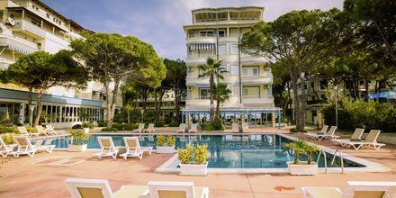 Lägenhetshotellet Fafa Apartments, Durres Riviera, Albanien.