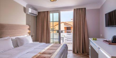 Dubbelrum på hotell Fafa Grand Blue i Durres Riviera i Albanien.