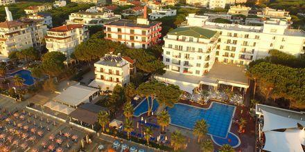 Hotell Fafa Premium vid Durres riviera i Albanien.