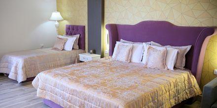 Dubbelrum på hotell Fafa Premium vid Durres riviera i Albanien.