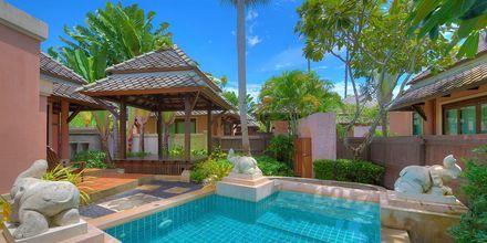 Pool bungalow på hotell Fair house Villas & Spa på Koh Samui, Thailand.