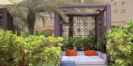 Poolområde på hotell Fairmont Ajman i Förenade Arabemiraten.