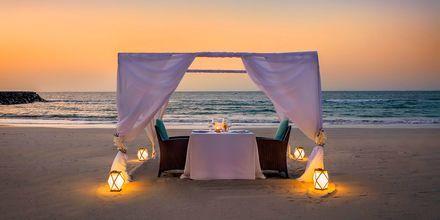 Privat middag på hotell Fairmont Ajman i Förenade Arabemiraten.