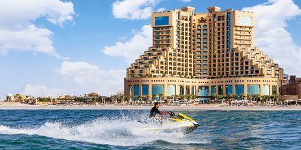 Vattensport på hotell Fairmont Ajman i Förenade Arabemiraten.