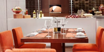 Gioia på hotell Fairmont Ajman i Förenade Arabemiraten.
