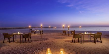 Strandbaren på Fanar Hotel & Residences i Salalah, Oman.