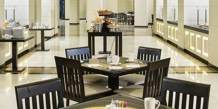Bufférestaurang på Fanar Hotel & Residences i Salalah, Oman.