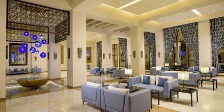 Lobbyn på Fanar Hotel & Residences i Salalah, Oman.