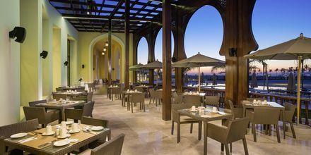 Restaurang på Fanar Hotel & Residences i Salalah, Oman.