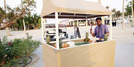 Juicebar på Fanar Hotel & Residences i Salalah, Oman.
