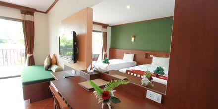 Dubbelrum på hotell Fanari Khaolak Resort i Khao Lak, Thailand.