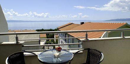 Lägenhet på hotell Fani i Makarska, Kroatien.