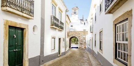 Gränd i Faros gamla stan.