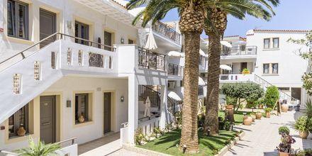 Hotell Flamingos på Kreta, Grekland.