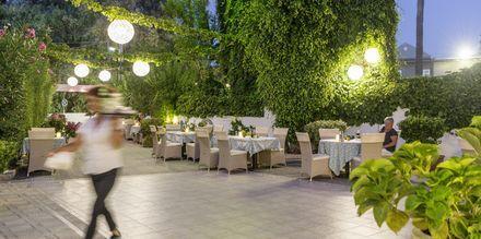 Restaurang på Kreta, Grekland.