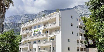 Hotell Flora i Tucepi, Kroatien.