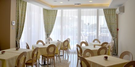 Restaurangen på hotell Flora i Tucepi, Kroatien.