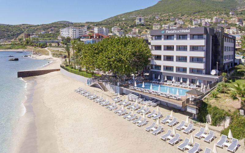 Hotell Floria Beach i Alanya, Turkiet.